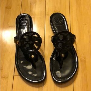 Tory Burch Shoes - Tory Burch Logo Sandals - Size 8.5